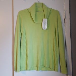 White Stag (XL) Cowl Neck Sweater (NWT)